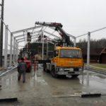 Budowa nowej Hali Naprawczej DTS-SZUBIN