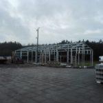 Konstrukcja Hali naprawczej produkcji DTS