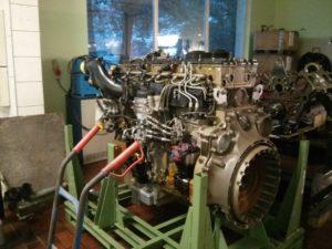 Silnik szkoleniowy MTU seria 1100 1300 1500 w DTS