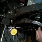 Silnik w trakcie naprawy